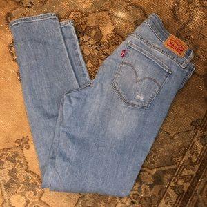 Levi's 711 skinny crop women's jeans - 31